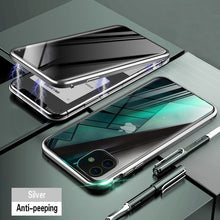 Load image into Gallery viewer, Anti-peek Tempered Glass with Magnetic Case.