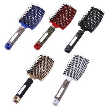 It can massage your head during comb, why not try it? Original body Hair Brush Magic Hair Comb De-tangling Hair Brush Detangle Lice Massage Comb.