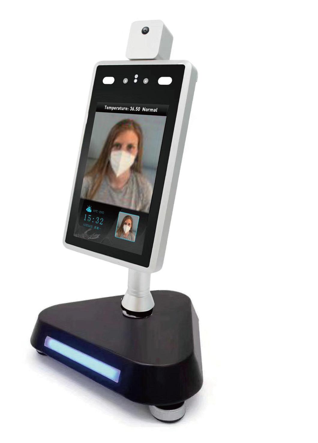 Safe Space Professional LED Desktop Stand BKT-D2