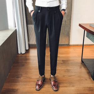 Social Men Pants Suit Pants Men Office Trousers for Men