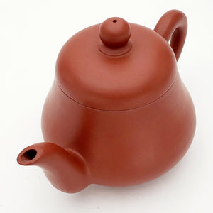 Chao Zhou Red Clay Tea Pot - Pear Shape 100 ml