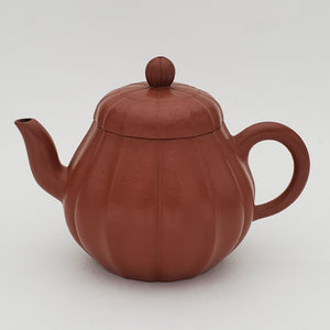 80's Yixing Zhuni Red Clay Teapot Ju Hua 150 ml