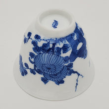 Load image into Gallery viewer, Blue and White Hand Painted Chrysanthemum Teacup