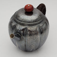 Load image into Gallery viewer, Pure Silver Teapot - Pumpkin 165 ml