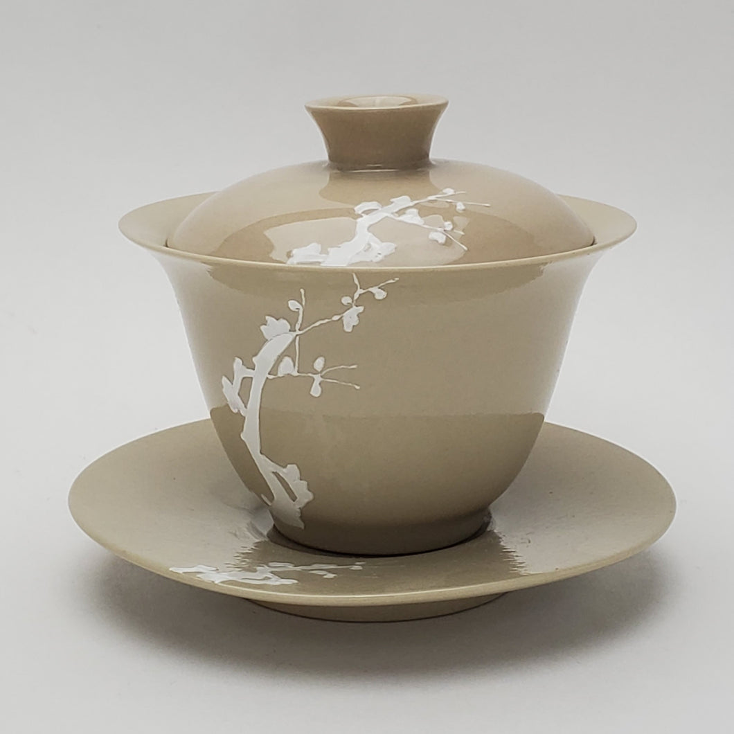 Gaiwan - Wood Ash Glaze Mei Hua 180 ml