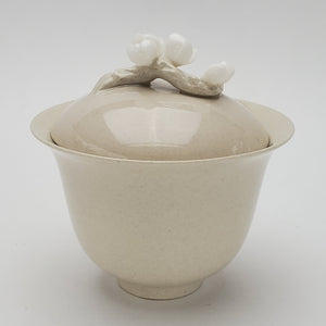 Gaiwan - Wood Ash Glaze Flowers 180 ml