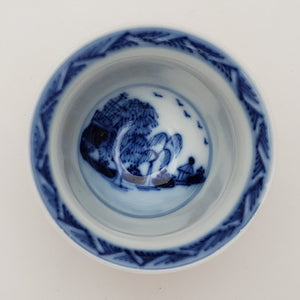 Batavia Blue and White Porcelain Teacup