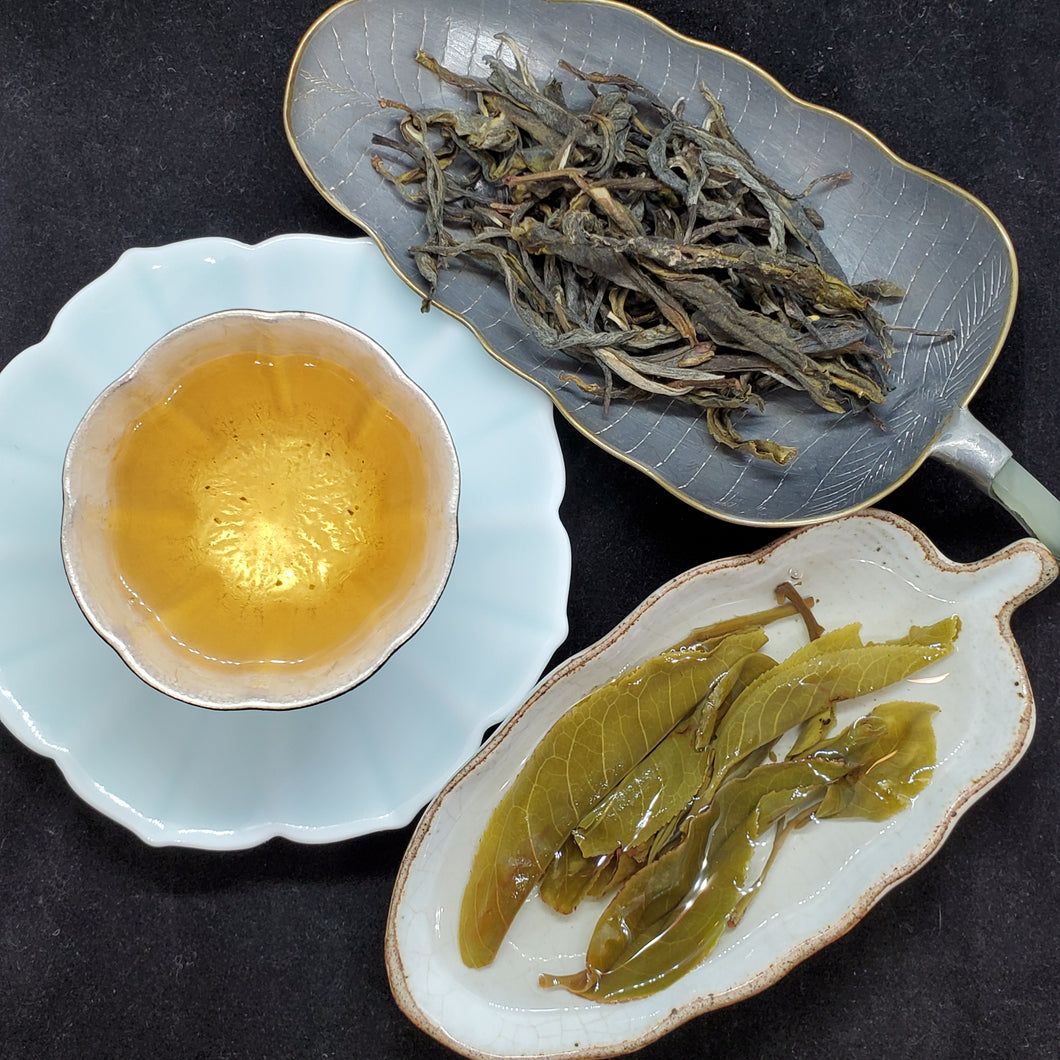 2020 Spring Bing Dao Ba Wai 600 Years Old Gushu Green Puerh Loose 1 oz