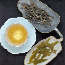 Load image into Gallery viewer, 2020 Spring 1st Pick Ku Zhu Shan 500+ years old Gushu Green Puerh Loose 2 oz