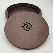 Load image into Gallery viewer, Black Sandalwood Tea Boat Tray