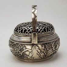 Load image into Gallery viewer, Incense Burner - Pine and Crane Tinned