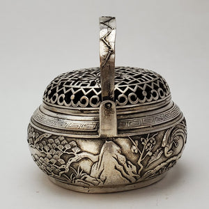 Incense Burner - Pine and Crane Tinned
