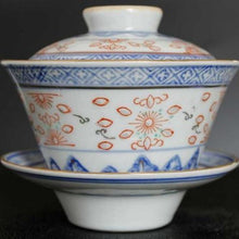 Load image into Gallery viewer, Gaiwan - Blue & White Ling Long Rice
