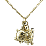 Pendentif Tortue Or | Univers de Tortue
