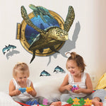 Stickers Muraux Tortue | Univers de Tortue