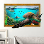 Stickers Mural Tortue de Mer | Univers de Tortue