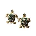 Boucle d'Oreille Tortue Or | Univers de Tortue