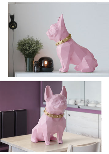 Cute Frenchie Dog Piggy Bank Decor - HolliePaws