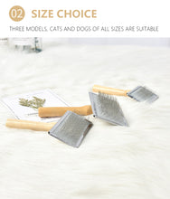 Load image into Gallery viewer, Wooden Slicker Brush for Grooming - HolliePaws