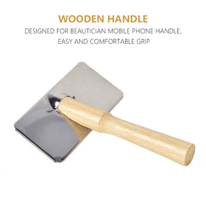 Wooden Slicker Brush for Grooming - HolliePaws