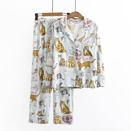 Women's Cat Pyjamas - HolliePaws