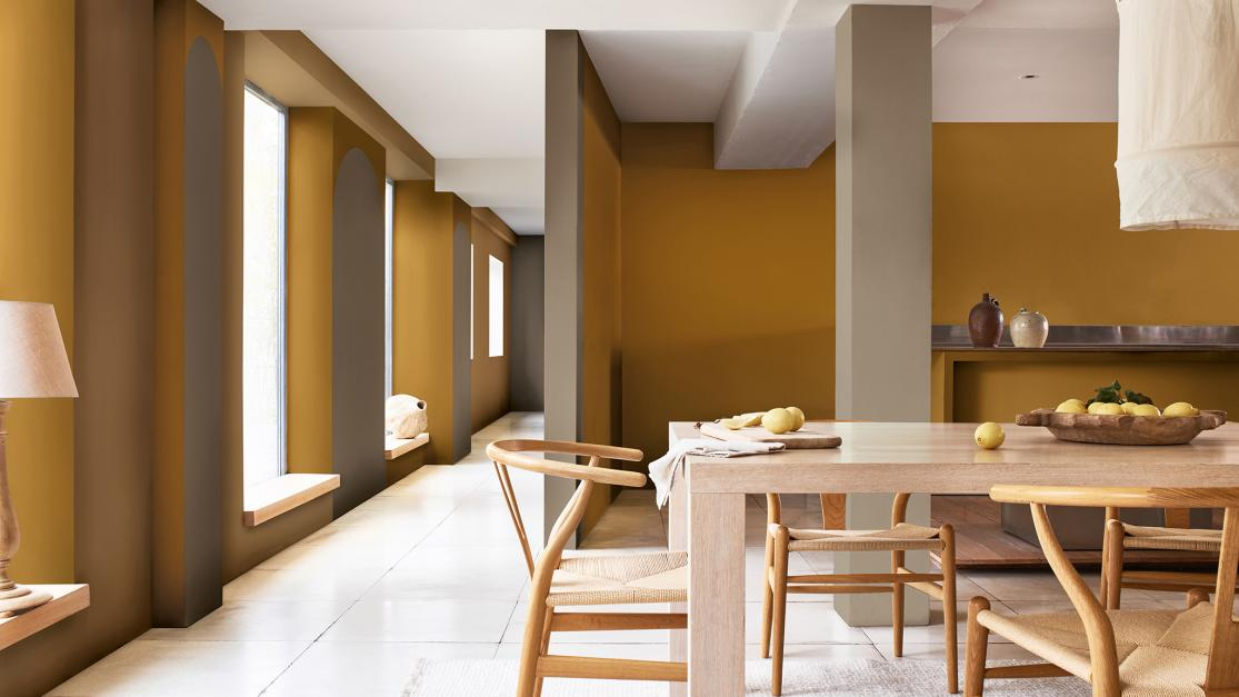 Dulux Colour of the Year with Golds