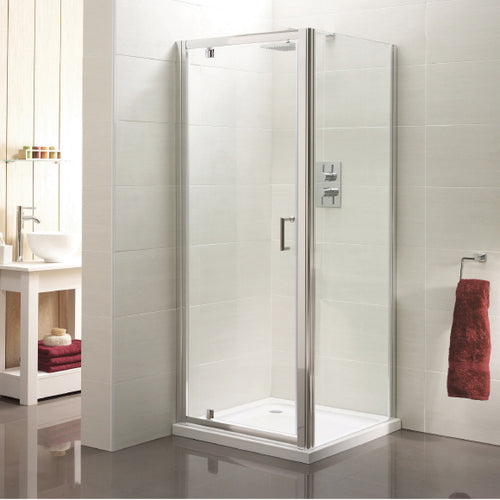 Aqua Pivot Shower Door 900mm