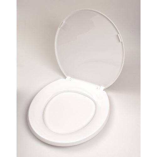 Aqua White Toilet Seat and Cover