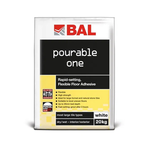 BAL Pourable One White 20kg
