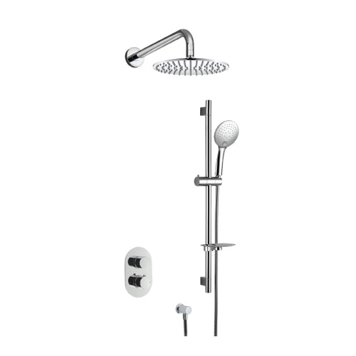 Boston Glide Concealed Shower