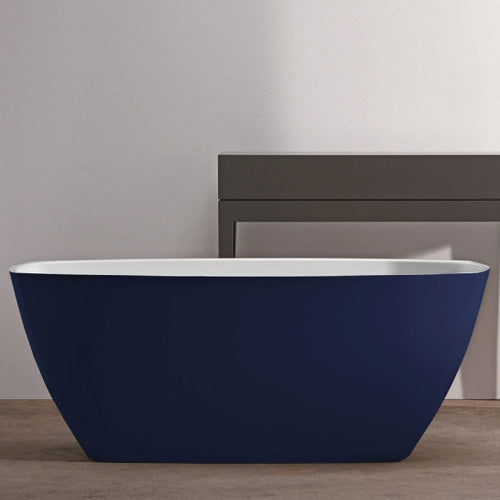 Cara Freestanding Bath (Deep Saxe Blue)