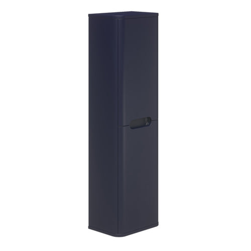 Carvello Wall Hung Mid Boy Storage Unit Indigo Supermatte