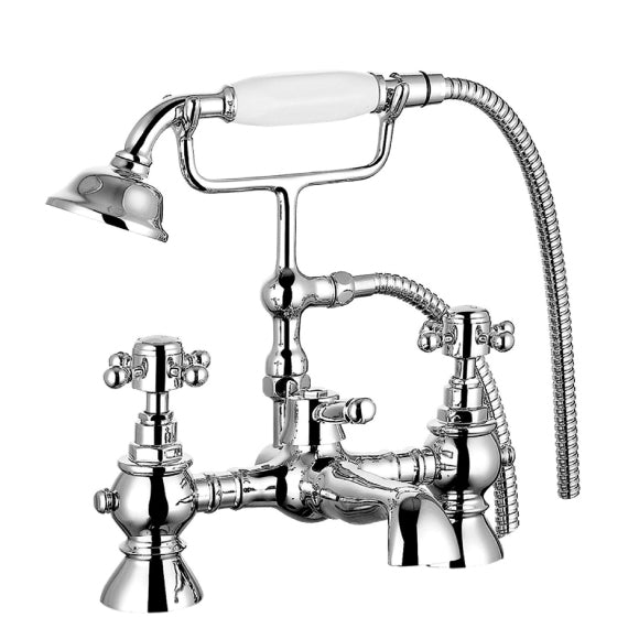 Charlston Traditional Bath Shower Mixer