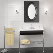 Load image into Gallery viewer, Lifestyle image of evolution blanco brillo tiles in bathroom setting