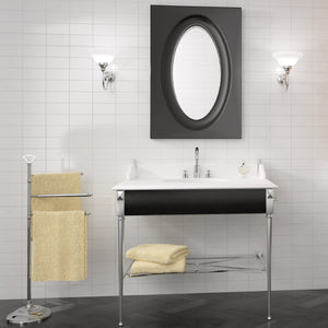 Lifestyle image of evolution blanco brillo tiles in bathroom setting