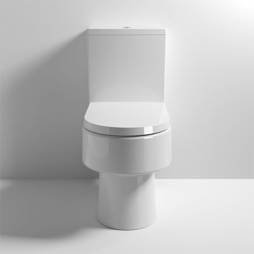 Nuie Ambrose Semi Flush to Wall Pan & Cistern