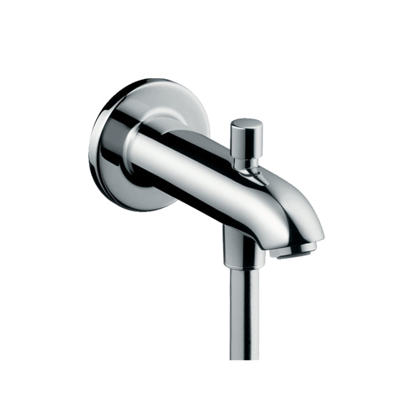 hansgrohe Bath Spout 15.2cm with diverter valve