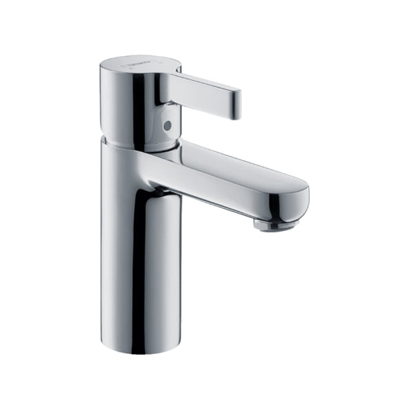 hansgrohe Metris S Washbasin mixer 100 with pop-up waste