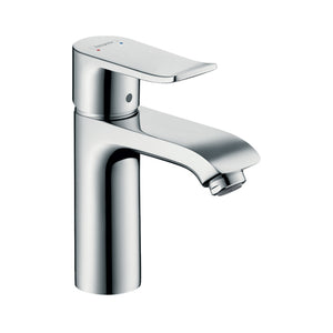 hansgrohe Metris Single lever basin mixer 110 with pop-up waste set