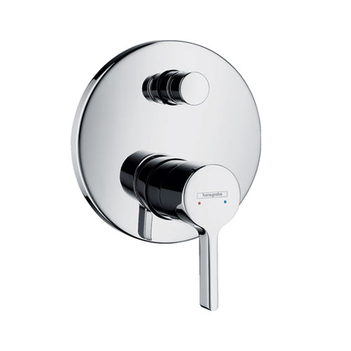 hansgrohe Metris S Single lever bath mixer for concealed installation