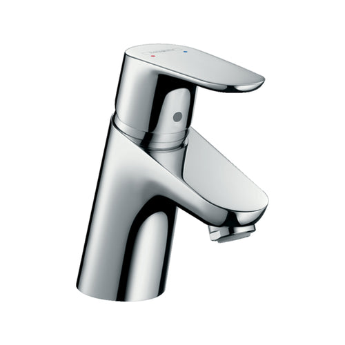 hansgrohe Focus E2 Single Lever Basin Mixer Tap & Push Waste Set