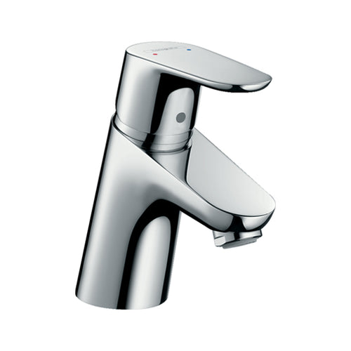hansgrohe Focus Single lever basin mixer 70 with pop-up waste set