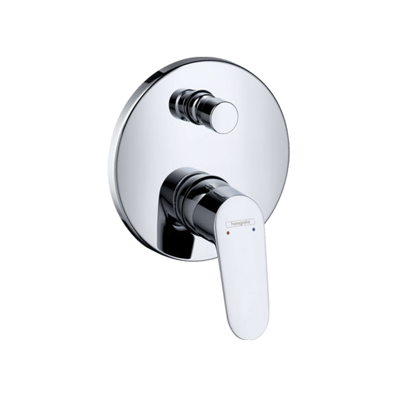 hansgrohe Focus Single lever bath mixer for concealed installation