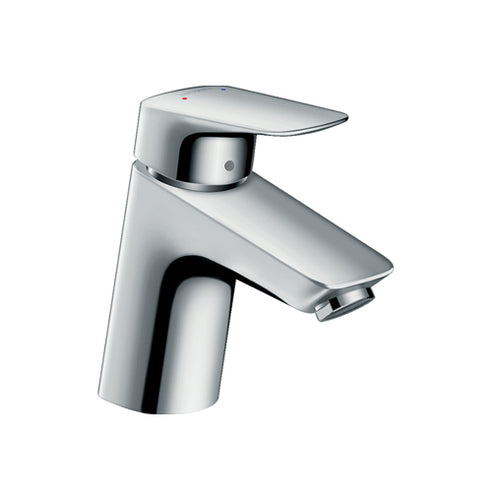 hansgrohe Logis Single lever basin mixer 70 with push-open waste set