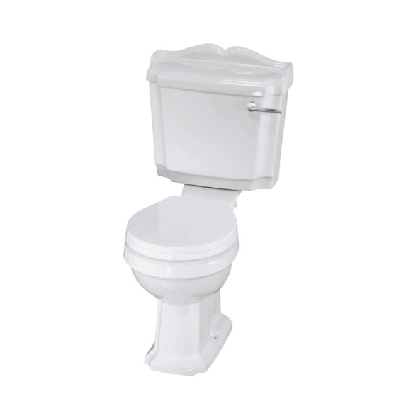 Legend Close Coupled Toilet with Soft Close Seat