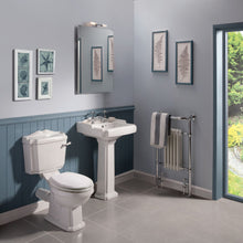 Load image into Gallery viewer, Legend Close Coupled Toilet with Soft Close Seat