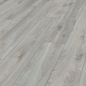 Mammut Plus Wide Long Plank Macro Oak White 10mm Laminate Flooring