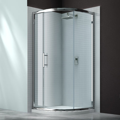 Merlyn 6 Series 900mm 1 Door Quadrant
