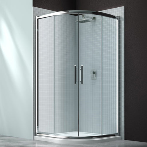 Merlyn 6 Series 900mm 2 Door Quandrant