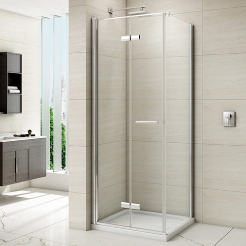 Merlyn 8 Series 900mm Frameless Hinged Bi Fold Door